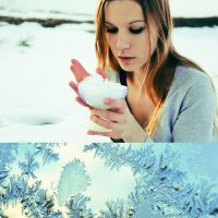 Winter in a glass by Embolia