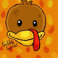 Gobble Gobble!! by MissFrazzle