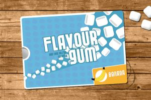 Flavour Gum package by leroydonovan