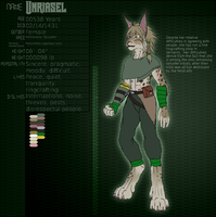 Character Slip: Unriasel by FrostWyrm102