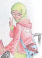 Say 'Peace...' by RN-danistha