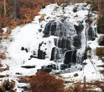 Frozen Falls by BeanSprout-Photog