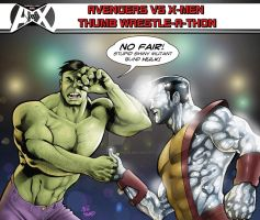 Avengers vs. X-Men (With a Twist)! tliid week 85 by StevenHoward