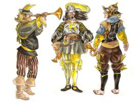 The Hammered Horn Corps by Tin-Lizzy
