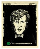 THE DOCTOR:  Edvard Munch Print by Dimestime