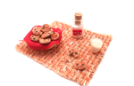 Romantic pick-nick:cookies with chocolate and milk by MiniSweetx