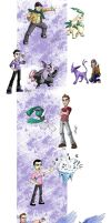 Trainer portraits compilation by wheretheresawil