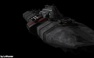 Medium Cruiser Dresden WIP 08 by Lc4Hunter