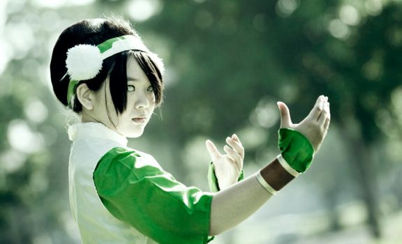 Toph Bei Fong-The Blind Bandit by RacoonFactory