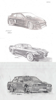 My Death Car Series Old-New by CptSky