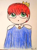 Prince Tanager by MinorasPatchworkArt