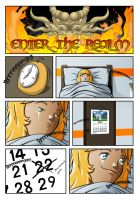 Enter the Realm - Ch1 Page 01 Colour by zentron