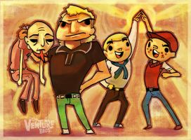 Go Team Venture, by L-MakesArt