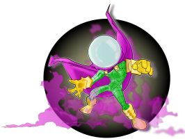 mysterio by kevtoons