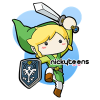 The Legend of Zelda: Link by NickyToons