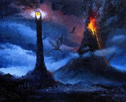Mordor by shobey1kanoby