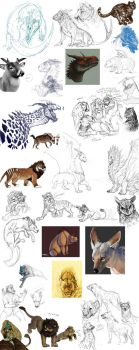 2011 Doodie Pile Part 3 by BearlyFeline