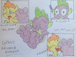 Spike's Awkward Moment (Valentine's Day Special) by DarienSpeyer