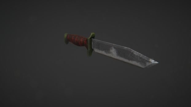 Combat Knife by 2012ReapeR