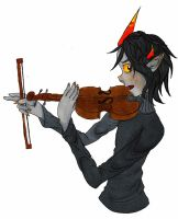 Violin by Rijito