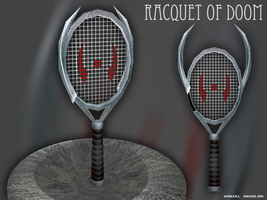 Racquet of Doom by Kritter5x