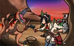 Of Cowboys and Dinos by gear25