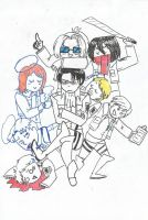 SnK:Everybody loves Corporal by sylwia1098