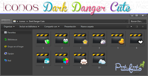 Folder's Dark Danger Cute by PiitufiitoGrr
