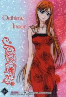 Orihime Inoue in evening-dress by FearBe