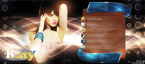 Katy Perry WebHeader by CoolDes