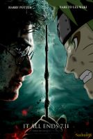 Naruto vs Harry by sashun08