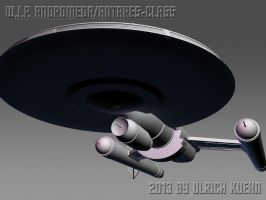 W.I.P. ANDROMEDA/ANTARES-CLASS ISO-004-B by ulimann644