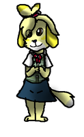 isabelle more like isaDORABLE by Meepalso