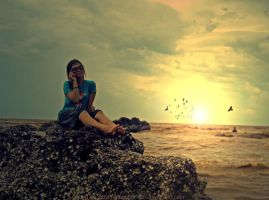 When The Sunset Comes by anugerah-ilahi