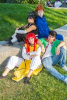 Yu Yu Hakusho: The Boys by xYaminogamex