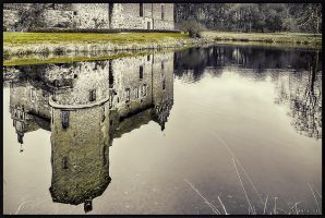 Castle Reflection. by Exparte-se