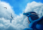 First Flight by bladebandit