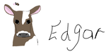 Edgar the cow by starrawesome123