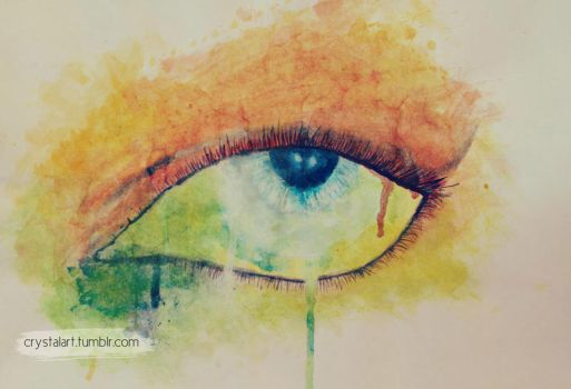 Paint In My Eye by freestyle-1love