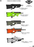 from FN F2000 to CrySiS T800 by ZiWeS