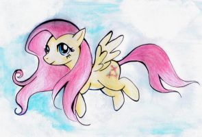 Flutter High Fluttershy! by Melody-in-the-Air