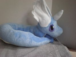 Dragonair Pokemon plush by cosmiccrittercrafts