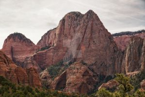Red Cliffs and the Dome ORG by mjohanson