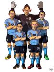 [2014 World cup Edition] D team : Uruguay by sakiroo