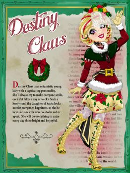 Destiny Claus by Jade-the-Tiger