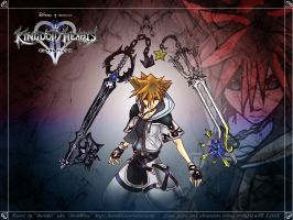 Old Fanart: Kingdom Hearts II by Kuroikii