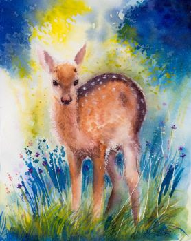 Card 14 Fawn by EarlyOctober