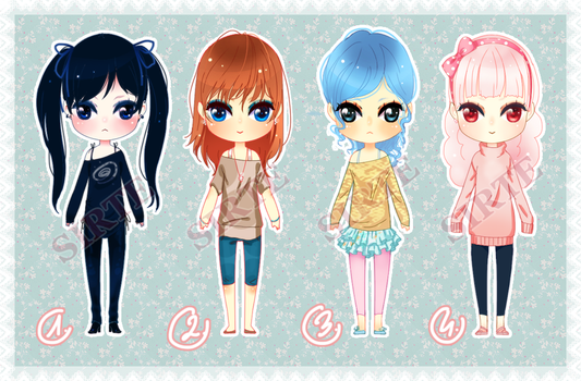 .adoptables1. (open) Edit. REDUCED PRICE! by sirte