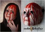 Handmade Horror Mask (for sale) by SADOFEKALUS