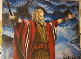 Moses by CharlieJacksonPaine3